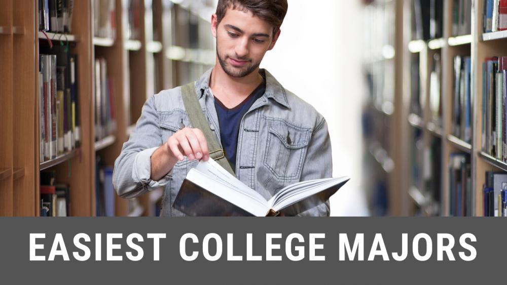easiest colelge majors