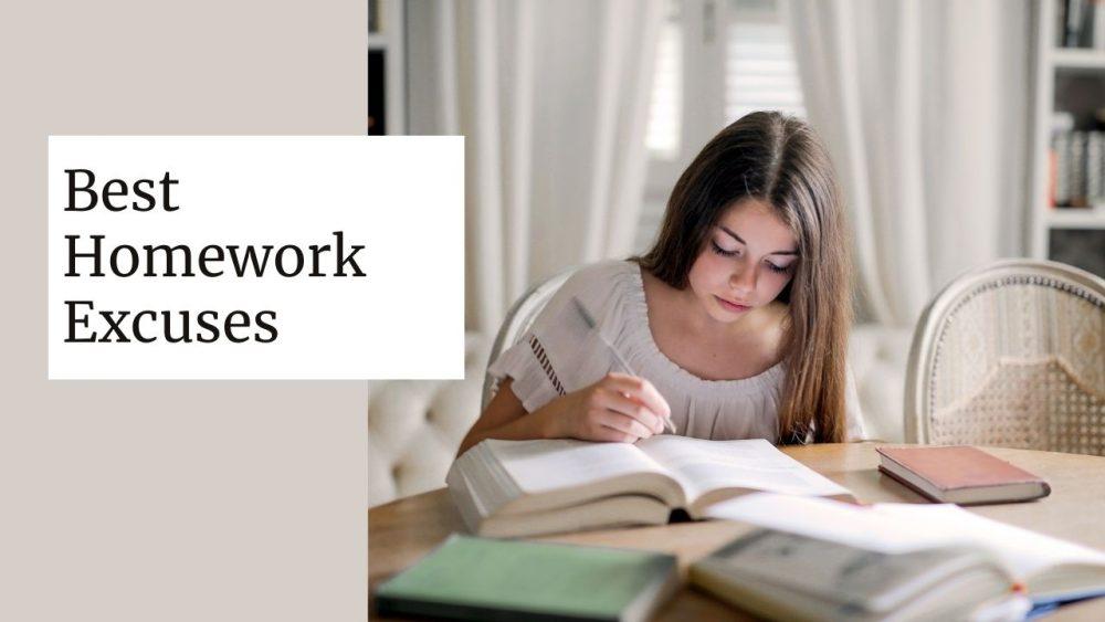 homework excuses