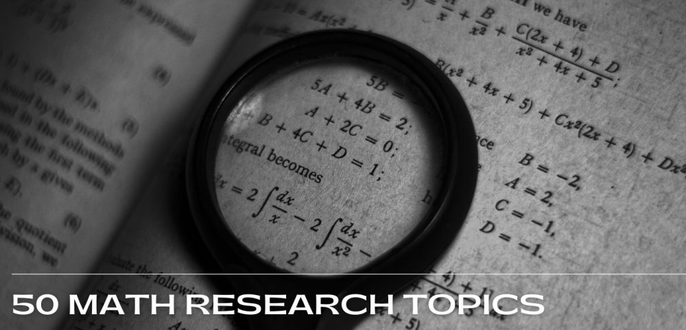 math research topics