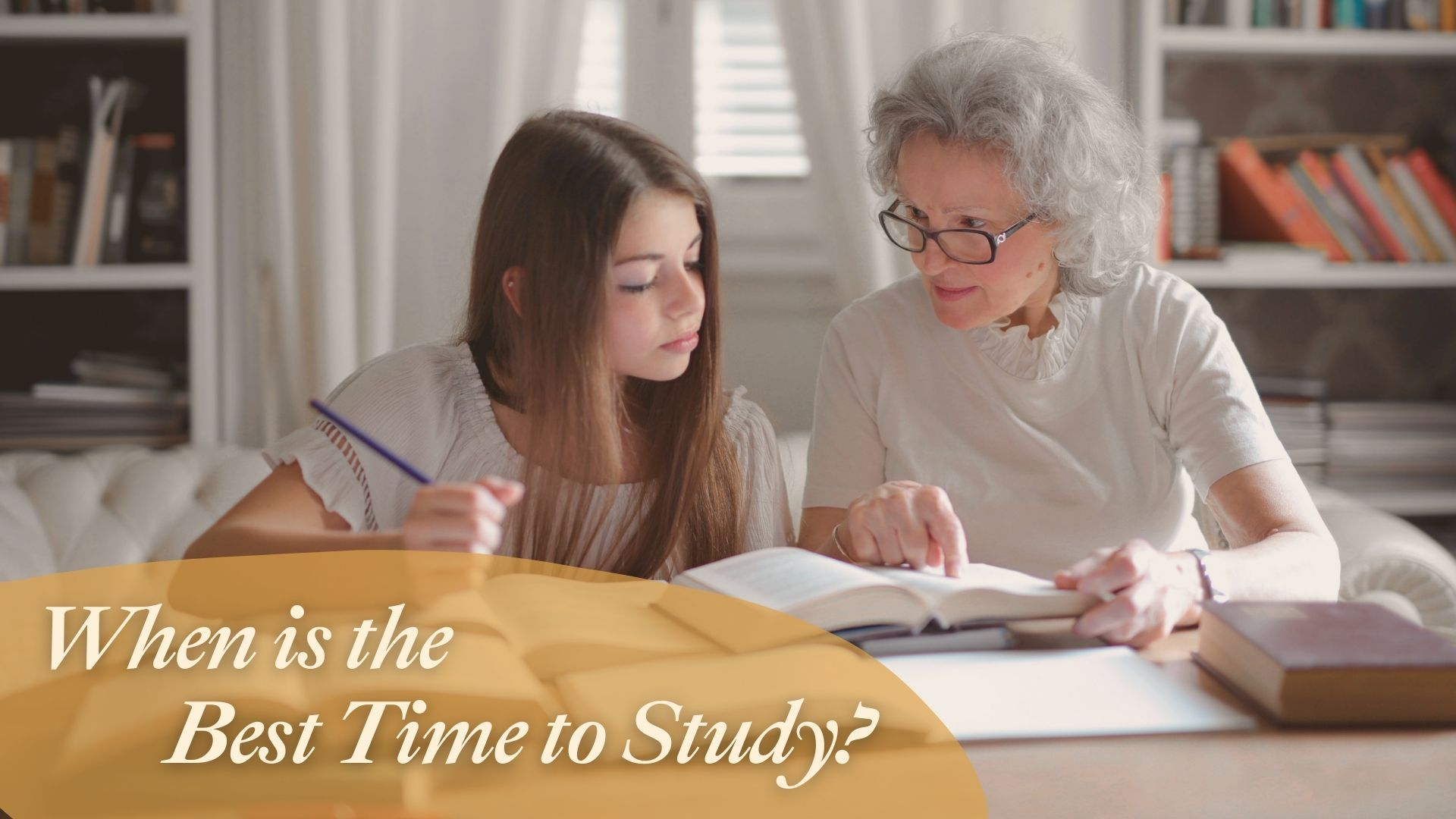 when is the best time to study